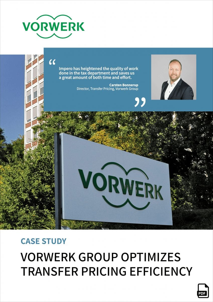 Vorwerk transfer pricing controls - case study