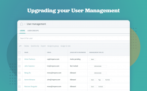 User management, Impero Compliance