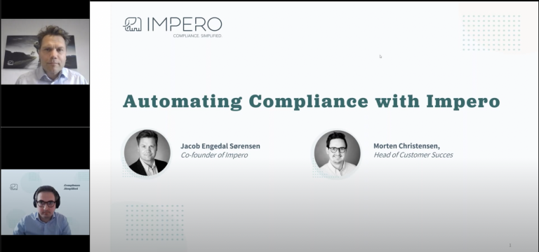 Automating compliance with Impero